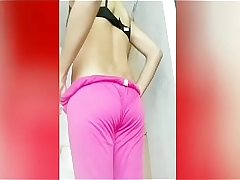 Indian teen hot ass show in panty